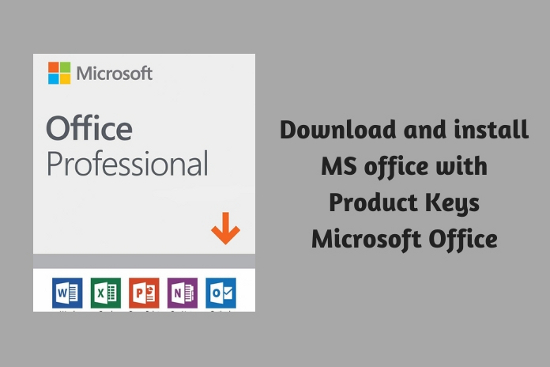 Download and install MS office with Product Keys Microsoft Office<sup>®</sup>