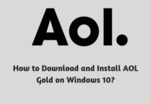 How to Download and Install AOL Gold on Windows 10?