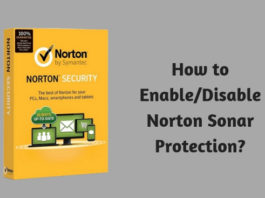 How to Enable - Disable Norton Sonar Protection