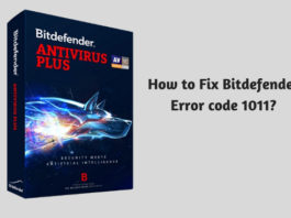 How to Fix Bitdefender Error code 1011?