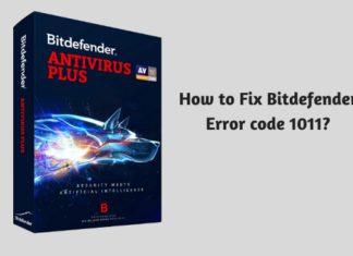 How to Fix Bitdefender Error code 1011?
