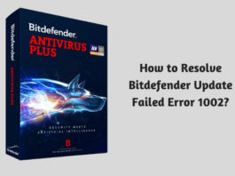 How to Resolve Bitdefender Update Failed Error 1002