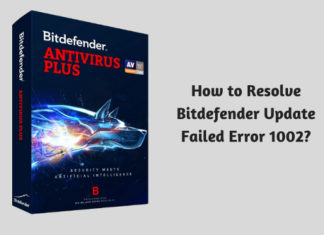 How to Resolve Bitdefender Update Failed Error 1002