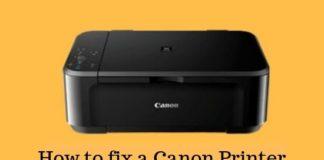 How to fix a Canon Printer Error Code b203 manually_