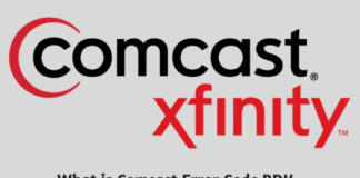 What is Comcast Error Code RDK 03003 and How to Fix it