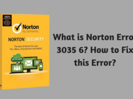 What is Norton Error 3035 6? How to Fix this Error?