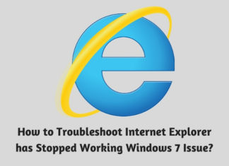 How to Troubleshoot Internet Explorer has Stopped Working Windows 7 Issue